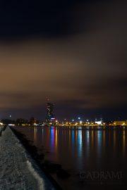 Gdynia nocą