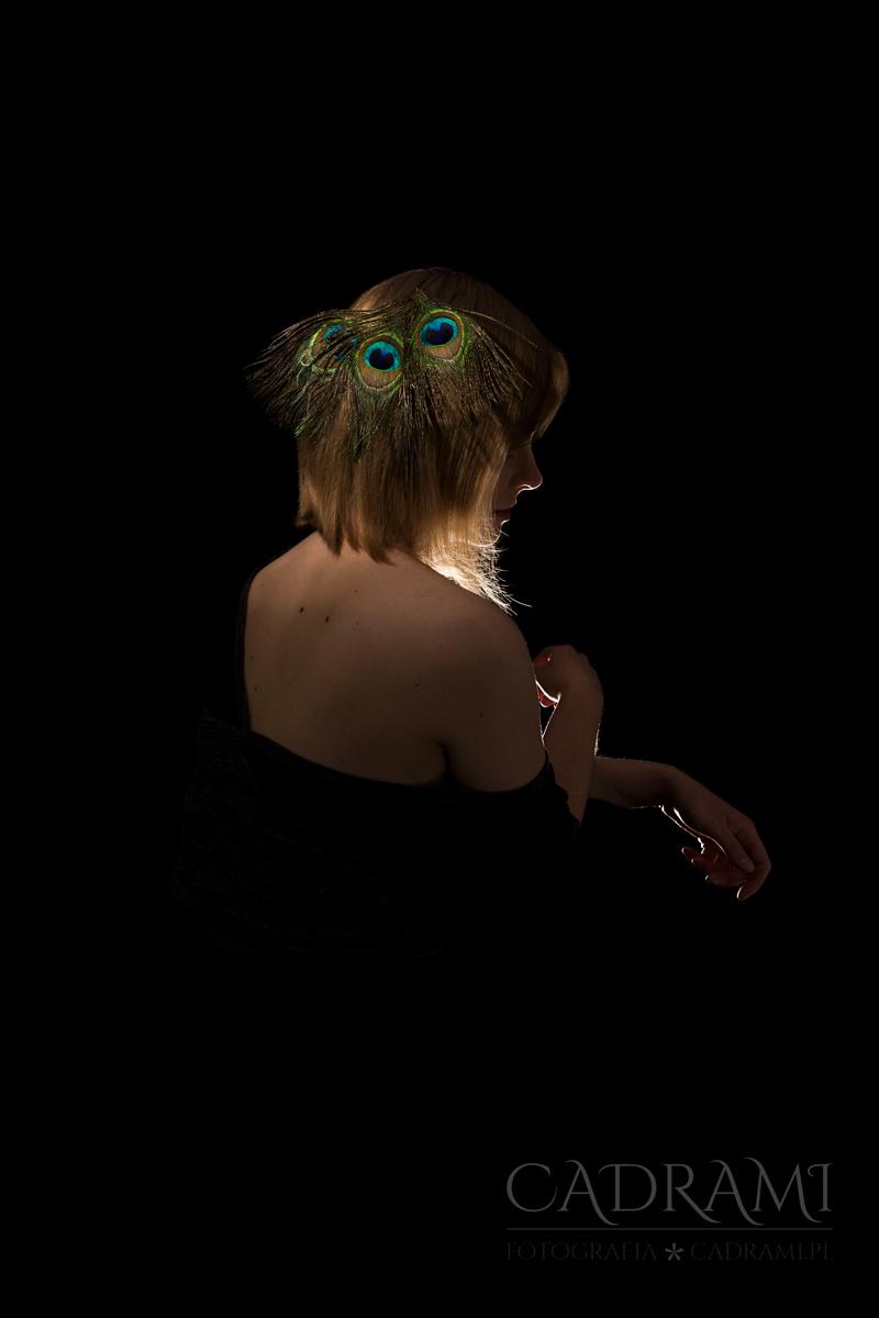 Paw – portret kobiety
