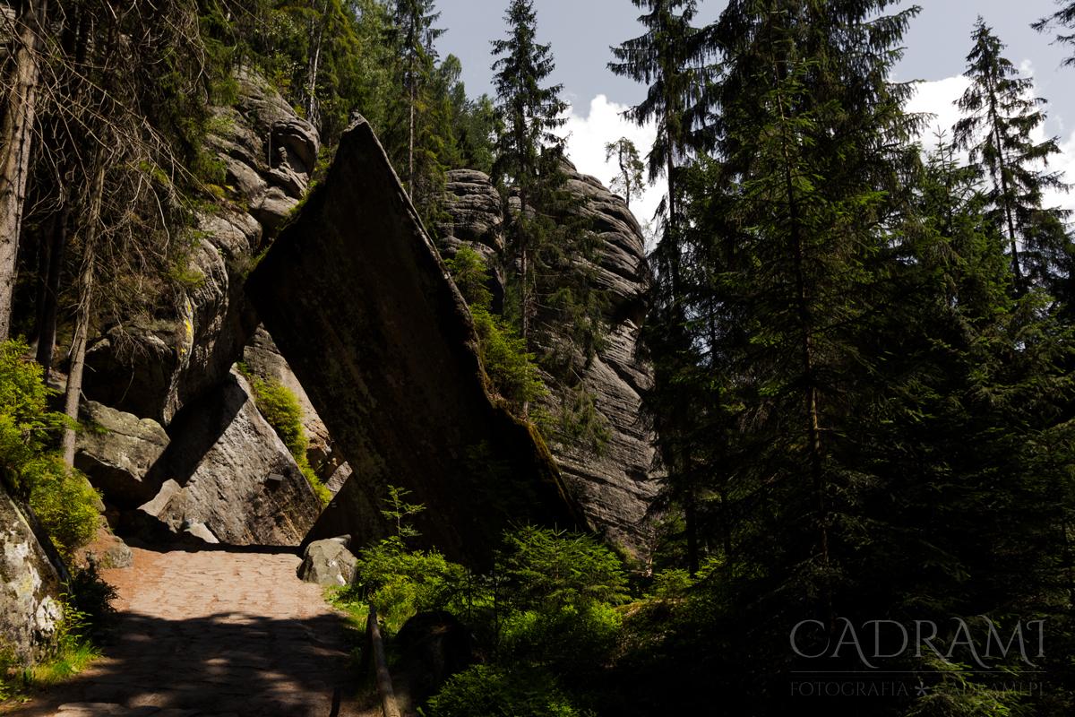 Teplickie Skały – skalne olbrzymy